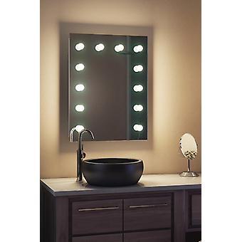 Diamond X настенный Голливуд макияж зеркало с затемняемый светодиодные k90LEDbath