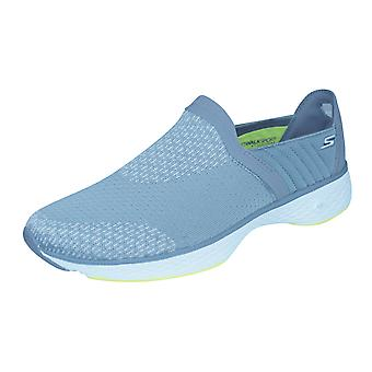 Skechers Go Walk Sport Supreme Womens Walking Trainers - Grey