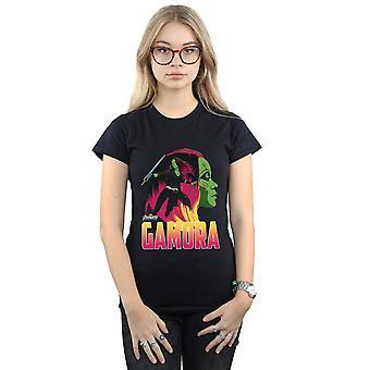 Infinito guerra Gamora personagem t-shirt Vingadores feminino
