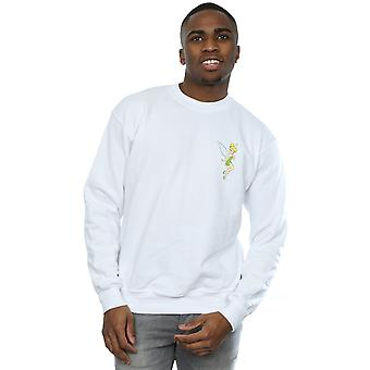 Disney Men's Tinkerbell Chest Sweatshirt