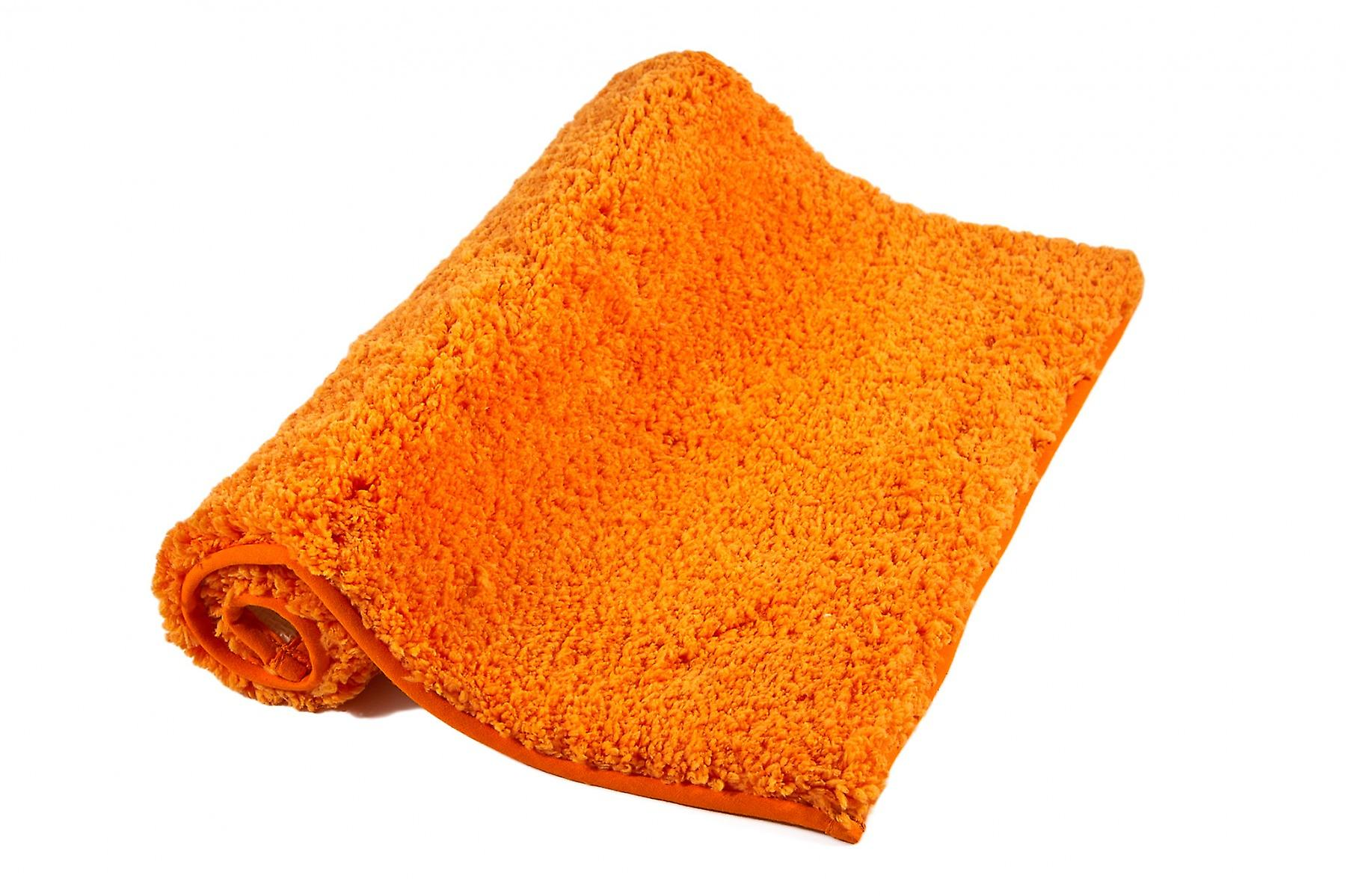 Heine home 45x50cm Orange Microfiber bath mat