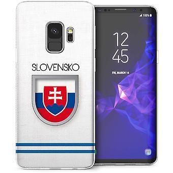 Samsung Galaxy S9 Slowakije World Cup TPU Gel geval