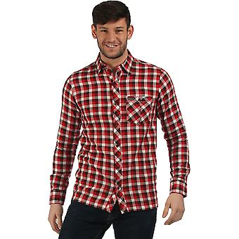 Regatta Mens Lazka Check Pattern Coolweave Cotton Shirt