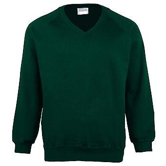 Maddins Coloursure Colours Mens V-neck Pull Over Sweatshirt Jumper