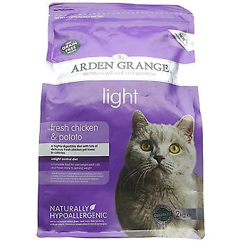 Arden Grange Dry Cat Food Light 2 Kg