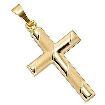 Cross pendant cross gold 333 LENNY for the cross chain necklace