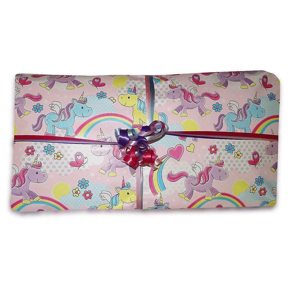 Pass the Parcel Ready Made Party Game - Unicorn Option 1 - 8, 10, 12, 14, or 16 Layers