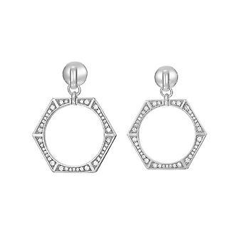 Joop women's earrings cubic zirconia EDGED JPER90351A000
