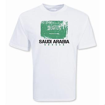 Saudi-Arabia Soccer t-skjorte