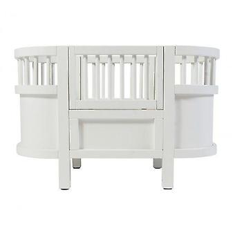 Sebra - Sebra Dolls Bed - White