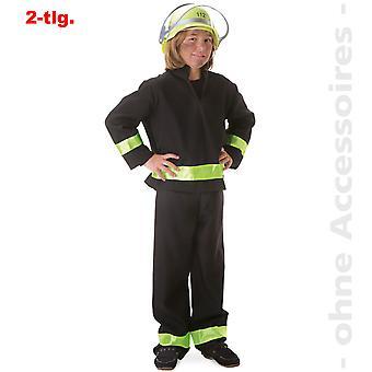 Fireman costume children fire extinguisher fire fighter child costume