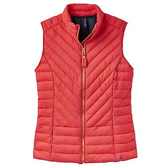 Joules Joules Brindley Chevron Quilted Womens Gilet (Z)
