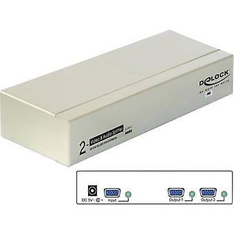2 ports VGA splitter Delock 87654 2048 x 1536 pix