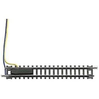 N Fleischmann (w/o track bed) 22220 Feeder track 104.2 mm