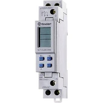 Finder 12.71.8.230.0000 - 16A Digital Weekly Time Switch SPDT-CO 250Vac