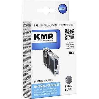 KMP Ink replaced HP 364XL Compatible Photo black H63 1713,0040