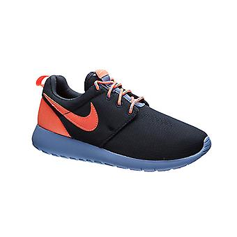 NIKE Roshe run junior sneaker dark blue