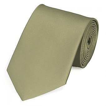 Stropdas de stropdas tie stropdas 8cm lime groen uni Fabio Farini