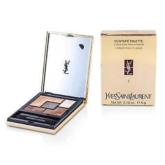 Yves Saint Laurent Couture Palette (5 Color Ready To Wear) #02 (Fauves) - 5g/0.18oz