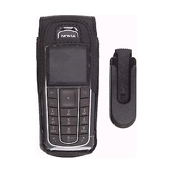Wireless Solutions Premium Leather Case with Swivel Belt Clip for Nokia 6230 (Bl