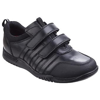 Hush Puppies Childrens/Boys Josh Jnr Touch Fastening Leather Shoes