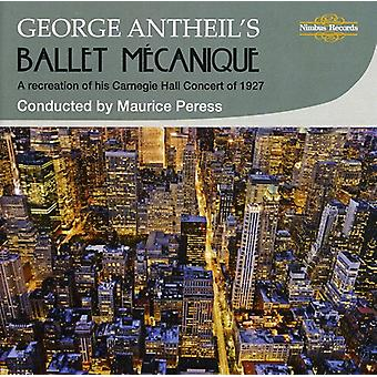 G. Antheil - George Antheil van Ballet M Canique [CD] USA import