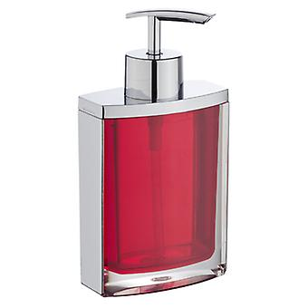 Wenko soap dispenser bristol  red (Bathroom accessories , Soap dish and dispensers)