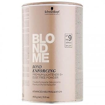 Schwarzkopf Blond Me Bond handhaving van Premium Lightener 9 + poeder 450g
