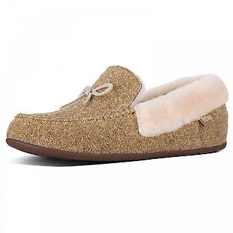 Fitflop™ Clara™  Glimmerwool Moccasin Slippers