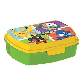 Pokemon Lunchbox Green/Yellow