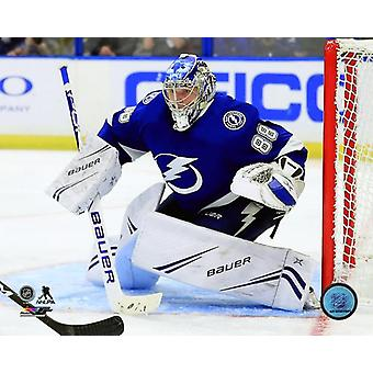 Andrei Vasilevskiy 2018-19 Action Photo Print