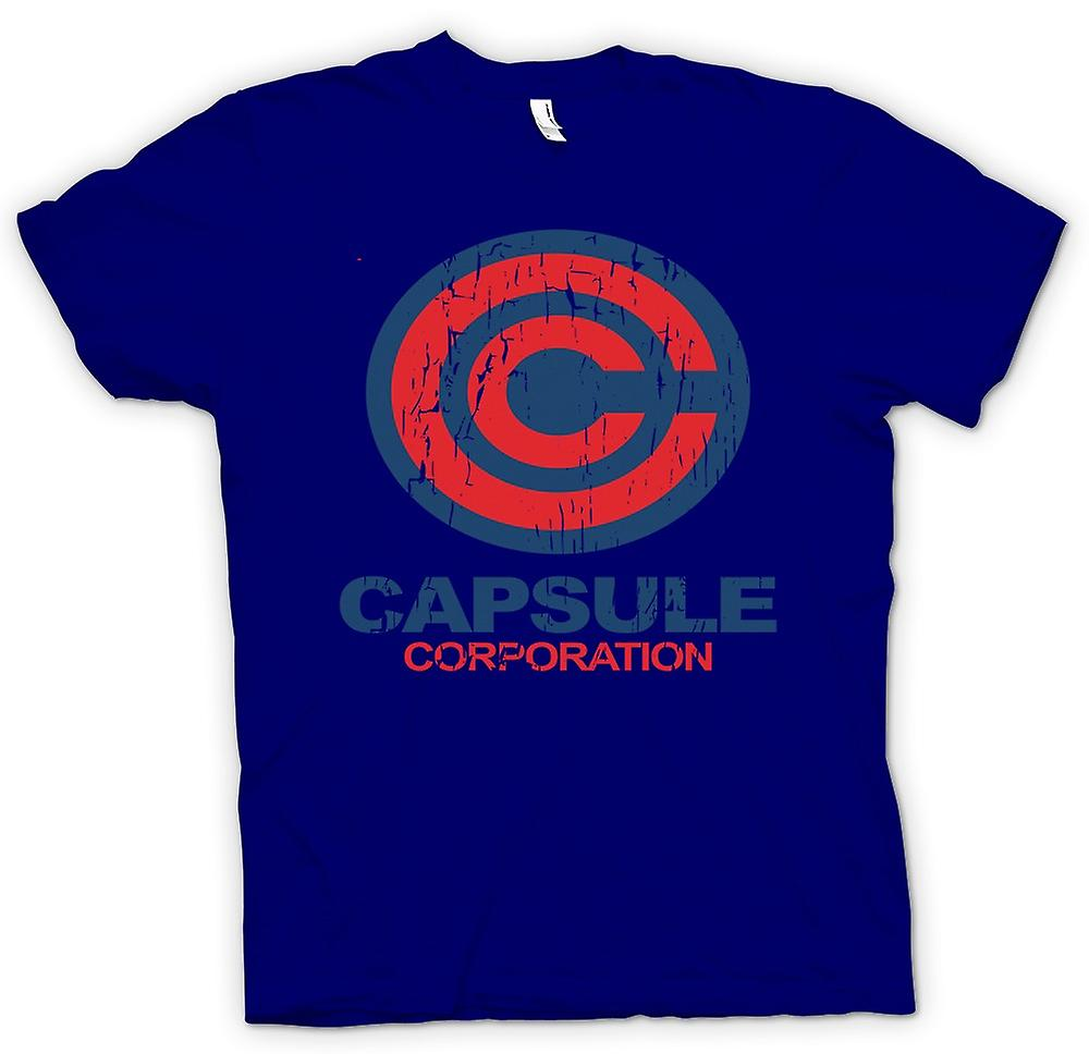 Camiseta para hombre - Capsule Corporation - Dragonball