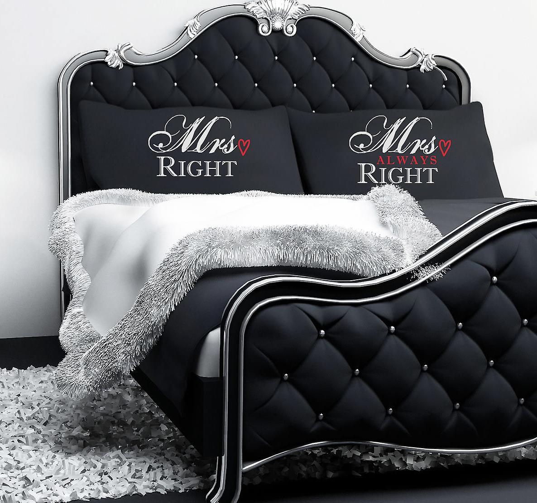 Always Black Right Pillowcases Always Mrs Black Mrs Black Mrs Right Pillowcases Right WrdoCxeB