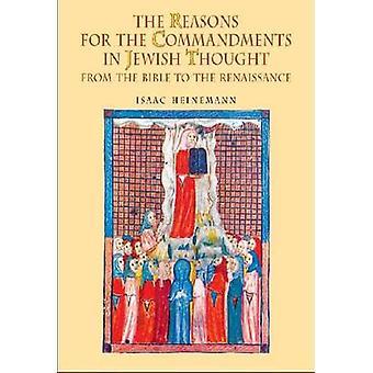 Die Gründe für die Gebote im jüdischen Gedanken - aus der Bibel