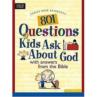 801 Fragen Kinder Fragen über Gott (Erbe Erbauer (Tyndale))