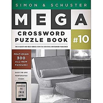 Simon & Schuster Mega Kruiswoord puzzel boekenreeks 10