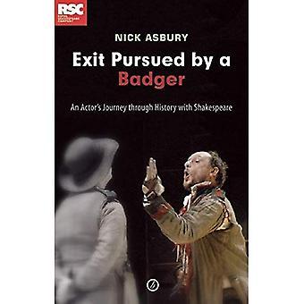 Exit, forfulgt af en grævling: en skuespiller rejse gennem historien med Shakespeare
