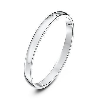 Hochzeit Ringe Platin Licht D 2mm Trauring-Sterne