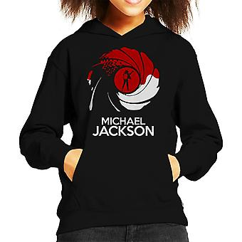 Michael Jackson James Bond Mix Kid's Hooded Sweatshirt