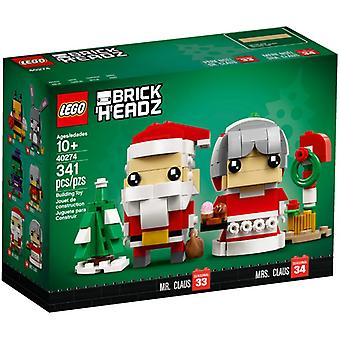 LEGO 40274 Santa and Christmas woman