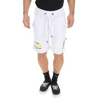Gcds White Cotton Shorts