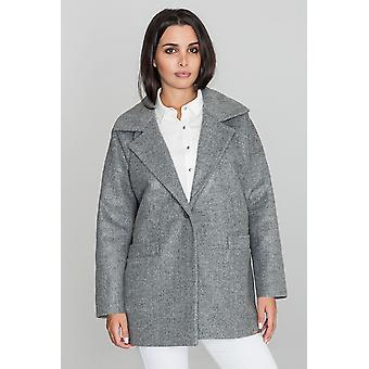 FIGL ladies coat grey one size