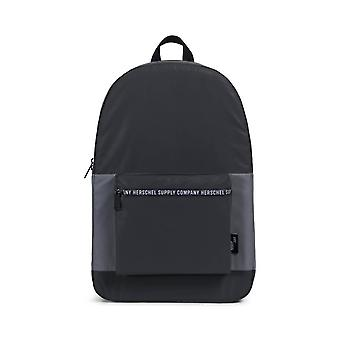 """Herschel Supply Co. Packable Daypack """"Day/Night"""" Collection - Black / Silver Reflective"""