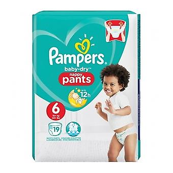 Pampers Baby Dry Pants Size 6 19Ct
