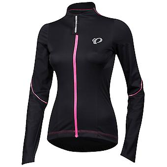 Pearl Izumi Black Pro Pursuit Wind Womens Long Sleeved Cycling Jersey