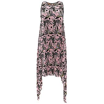 Kenzo Pink Polyester Dress