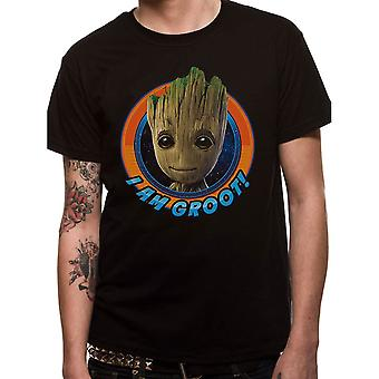 Men's Marvel Guardians of the Galaxy Vol 2. Baby Groot T-Shirt