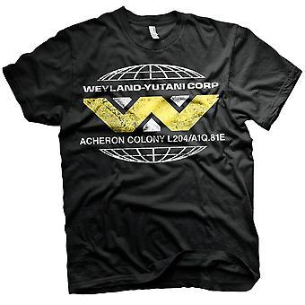 Männer Aliens Wayland-Yutani Corp Black T-Shirt