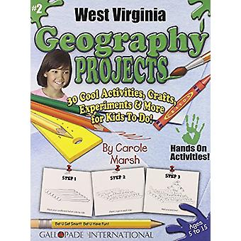 West Virginia Geography Projects - 30 Cool Activities - Crafts - Expe