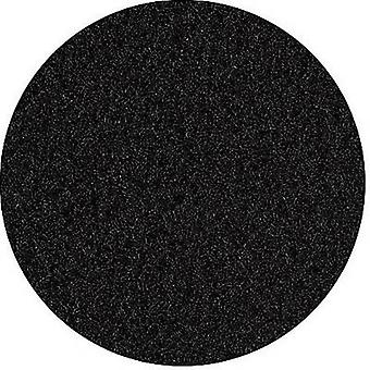 Self-adhesive velour Fleece Black